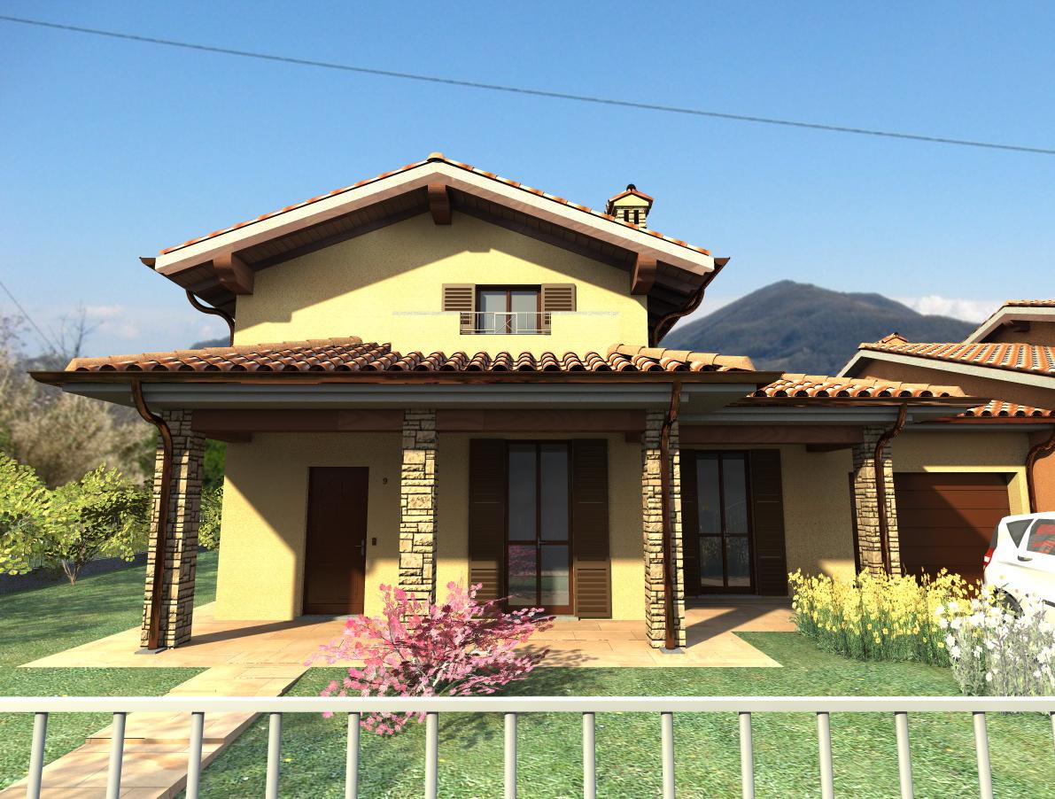 Case niviano rivergaro in vendita e in affitto for Case con portici